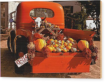 New Mexico Truck Wood Print