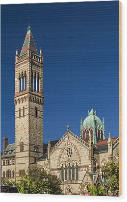 New Old South Church Wood Print