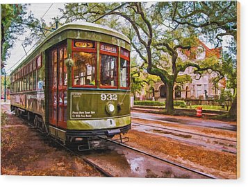 New Orleans Classique Oil Wood Print