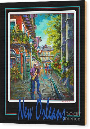 New Orleans Wood Print by Dianne Parks
