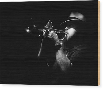 New Orleans Jazz Wood Print by Brenda Bryant