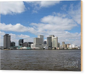 New Orleans Wood Print by Olivier Le Queinec