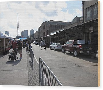 New Orleans - Seen On The Streets - 121213 Wood Print by DC Photographer