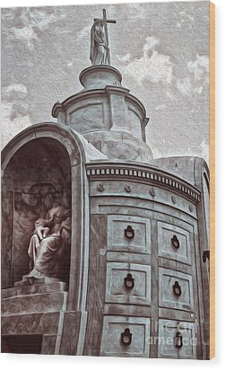 New Orleans - St.louis Cemetery Wood Print by Gregory Dyer