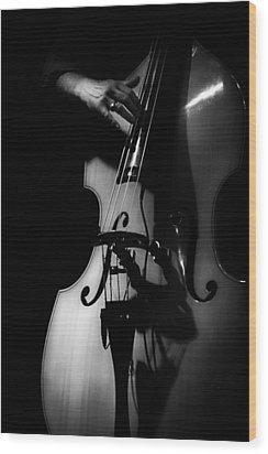 New Orleans Strings Wood Print by Brenda Bryant