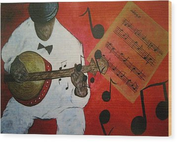 New Orleans Wood Print by Valorie Cross