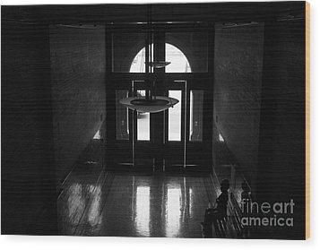 New Photographic Art Print For Sale Bradbury Building 12 Downtown La Wood Print by Toula Mavridou-Messer