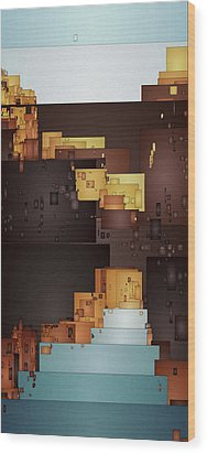 New Pueblo 1 Wood Print by David Hansen