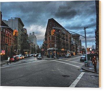 New York City - Greenwich Village 012 Wood Print by Lance Vaughn