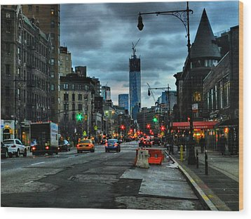 New York City - Greenwich Village 014 Wood Print by Lance Vaughn