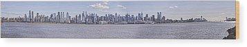 New York City Wood Print by Theodore Jones