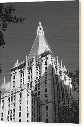 New York Life Insurance Tower Wood Print