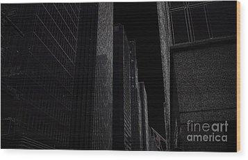 New York Wood Print by Nancie DeMellia