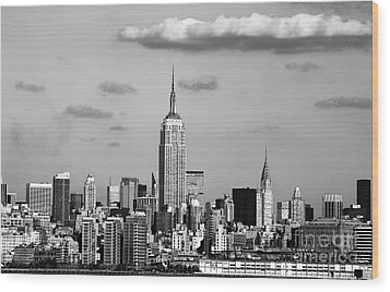 New York New York Wood Print by John Rizzuto