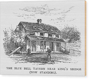 New York: Tavern, C1725 Wood Print by Granger