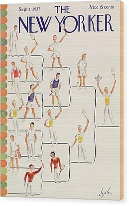 New Yorker September 11th, 1937 Wood Print
