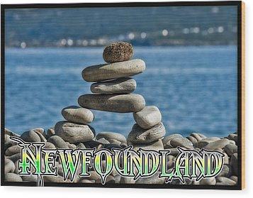 Newfoundland Wood Print