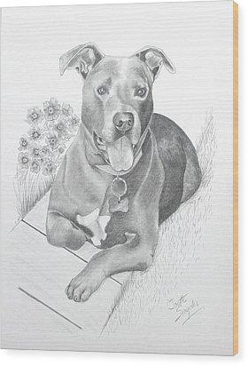 Newman Wood Print