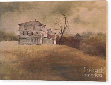 Newport Vermont Wood Print by Joy Nichols