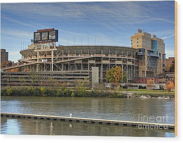 Neyland Stadium Wood Print