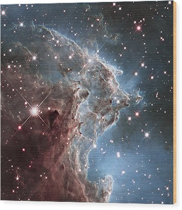 Ngc 2174-nearby Star Factory Wood Print by Barry Jones