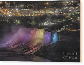 Niagara Falls Wood Print by JRP Photography