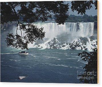 Wood Print featuring the photograph Niagara Falls by Tom Brickhouse