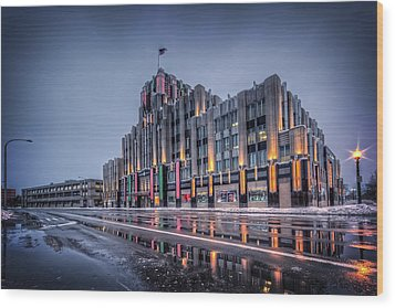 Niagara Mohawk Syracuse Wood Print by Everet Regal