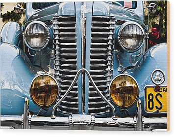 Nice Headlights Wood Print by Merrick Imagery