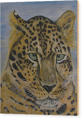 Nice Kitty Wood Print