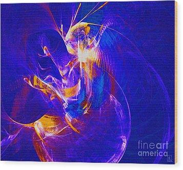 Night Dancer 2 Wood Print by Jeanne Liander