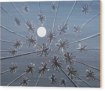 Night Dreams Wood Print