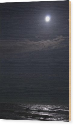 Night Moon Sun 161 Wood Print