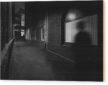 Night People Wood Print by Bob Orsillo