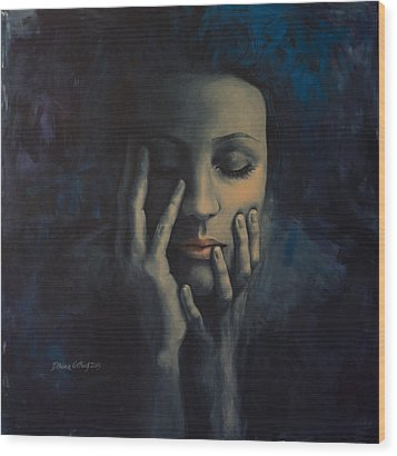 Nights In July Wood Print by Dorina  Costras