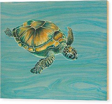 Nik's Turtle Wood Print