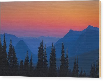 Nisqually Rainbow Wood Print