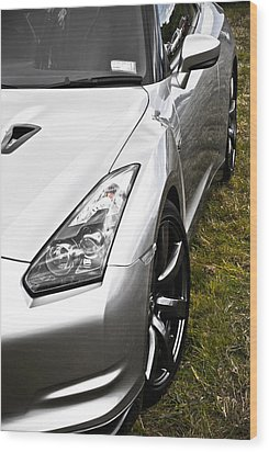 Nissan Gtr Wood Print by Phil 'motography' Clark