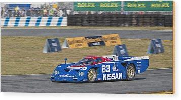 Nissan Zx-gtp Turbo Wood Print