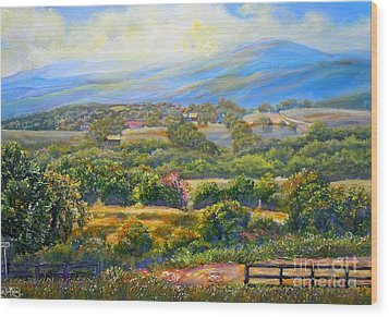 Nixon's A Scenic View On Jacksontown Road 2 Wood Print