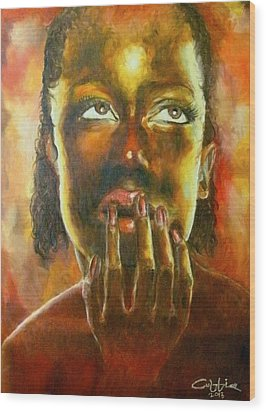 Nkosazana Wood Print