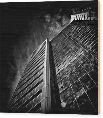 No 123 Front St W Toronto Canada Wood Print by Brian Carson
