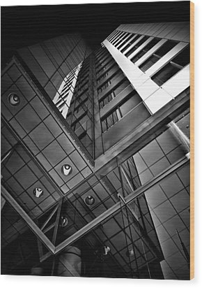 Wood Print featuring the photograph No 225 King Street West David Pecaut Square Toronto Canada by Brian Carson