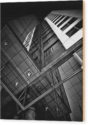 No 225 King Street West David Pecaut Square Toronto Canada Wood Print by Brian Carson