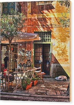 No. 29 Wood Print by John Bushnell
