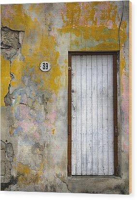 No. 39 Wood Print