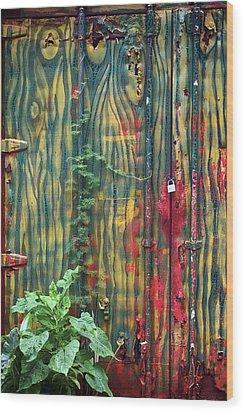 No Cojes Los Mangos Bajitos Wood Print
