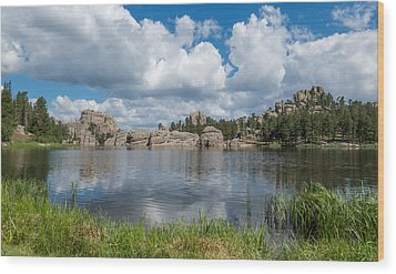 Sylvan Lake South Dakota Wood Print