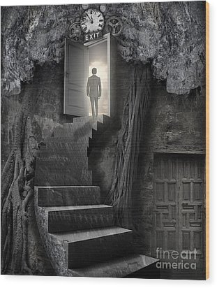 Wood Print featuring the photograph No More Lies by Keith Kapple