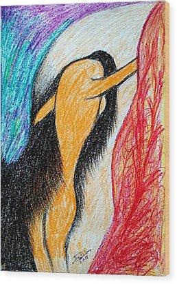 No Option Wood Print by Hari Om Prakash